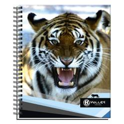 Cuaderno Universitario Tigre