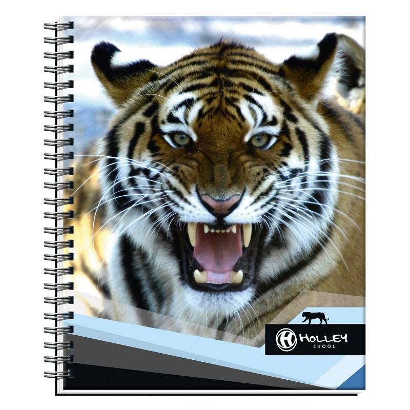 Holley Skool - Cuaderno Universitario Tigre