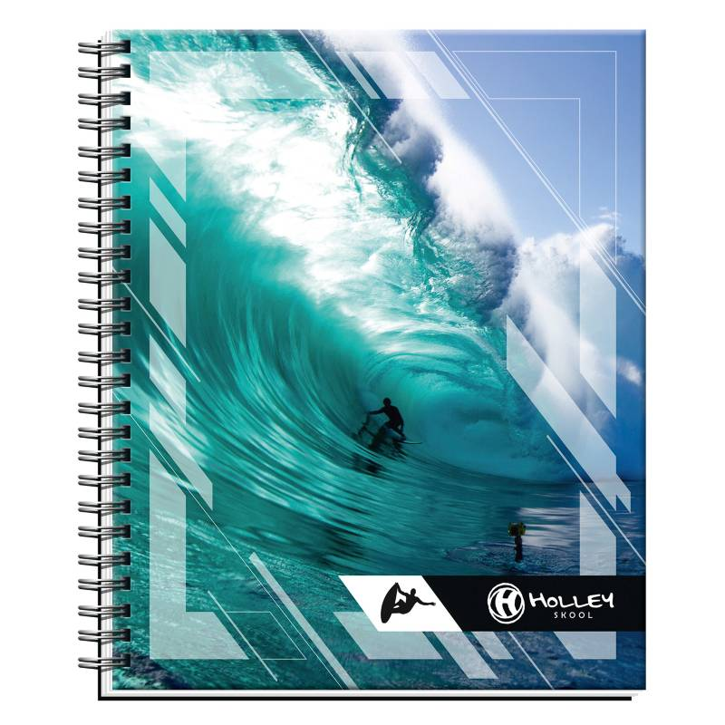 Holley Skool - Cuaderno Universitario Tapa Doble