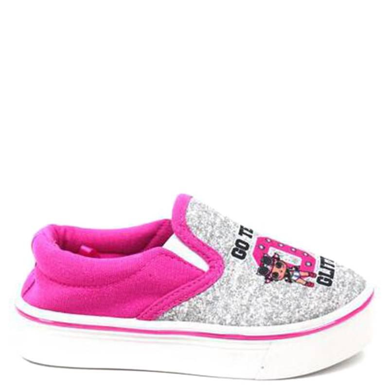 Lol - Zapato Niña Slipon Alta Rosada