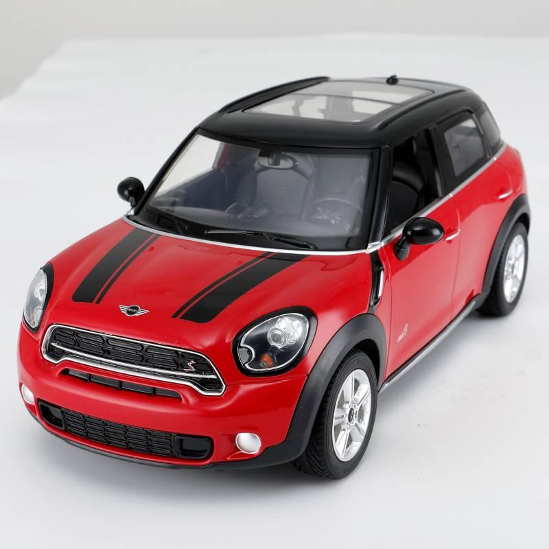 Rastar - Auto Radiocontrolado Rastar Minicooper Rojo