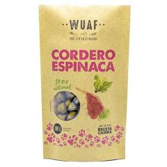 PET VIBES - Snack WUAF Cordero - Espinaca