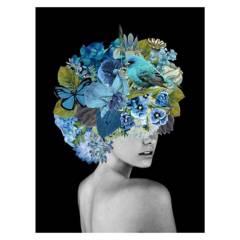 ARTE ONLINE - Cuadro Mascara Azul
