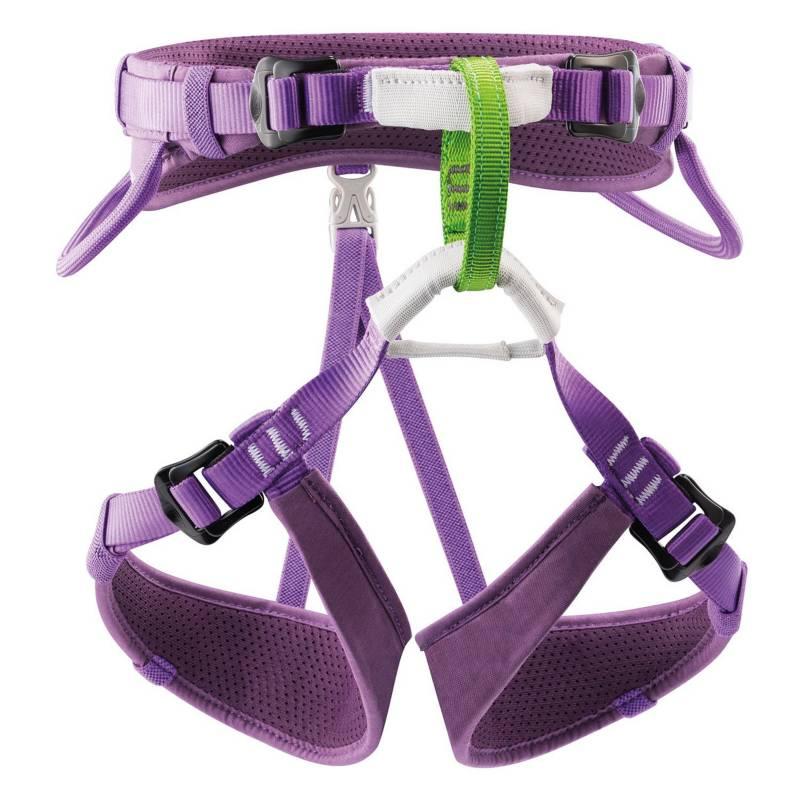 PETZL - Arnés De Cintura Para Niños Macchu Color Violeta