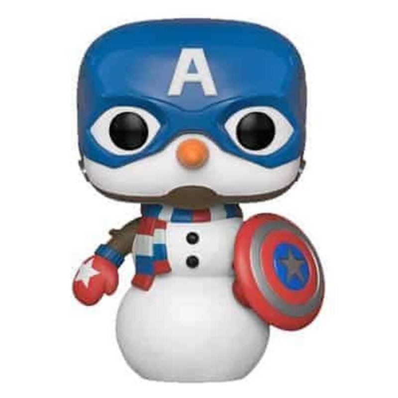 Funko - Funko Pop Marvel Holiday Capitan America