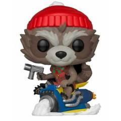 Funko - Funko Pop Marvel Holiday Rocket