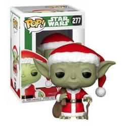 Funko - Funko Pop Star Wars Holiday Santa Yoda