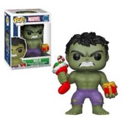 Funko - Funko Pop Marvel Hulk With Stocking And Plush
