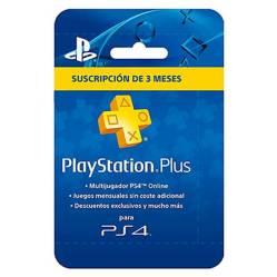 Tarjeta Playstation Plus 3 Meses Sony (Cuenta A.)