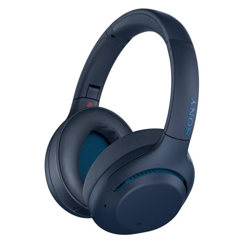 SONY - Audífono Bluetooth WH-XB900N Noise Cancelling Azul
