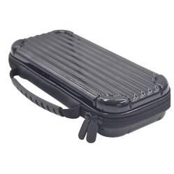 Travel Case Nintendo Switch Metálico Rigido Negro