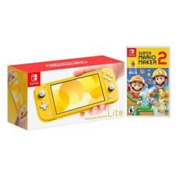 Kit Nintendo Switch Lite Amarillo y Super Mario