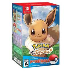 Pokemon Lets Go Eeveepokeball Plus