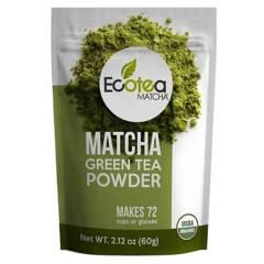 ECOTEA MATCHA - Te Verde Japones Premium Usda 60G