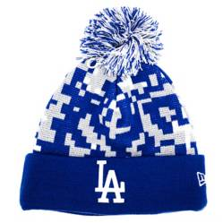 Beanie New Era Pom Pixel Los Angeles Dodgers