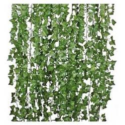 REQUETEOFERTAS - Pack 36 Tiras Planta Artificial Enrredadera 2.1M D