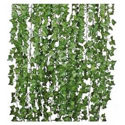 REQUETEOFERTAS - Pack 24 Tiras Planta Artificial Enrredadera 2.1M D