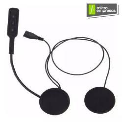 Bluetooth Para Casco De Moto C/ Microfono Flexible
