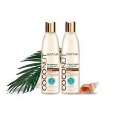 KATIVA - Pack X 2 Coconut Kativa
