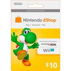 NINTENDO - Tarjeta Nintendo Eshop Card $10