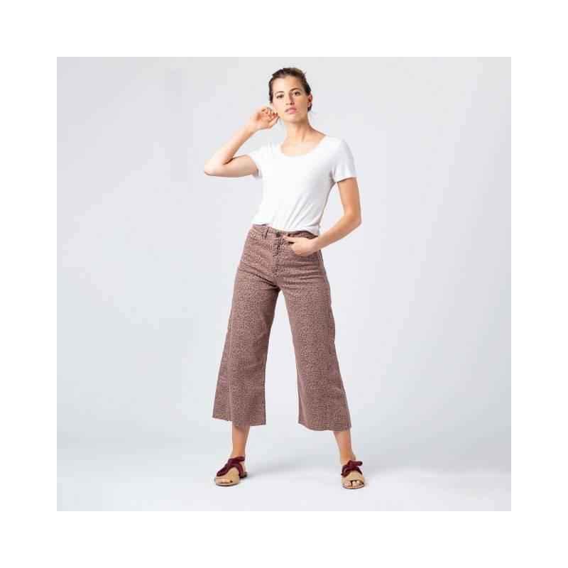 MONA - Culotte Jeans Print