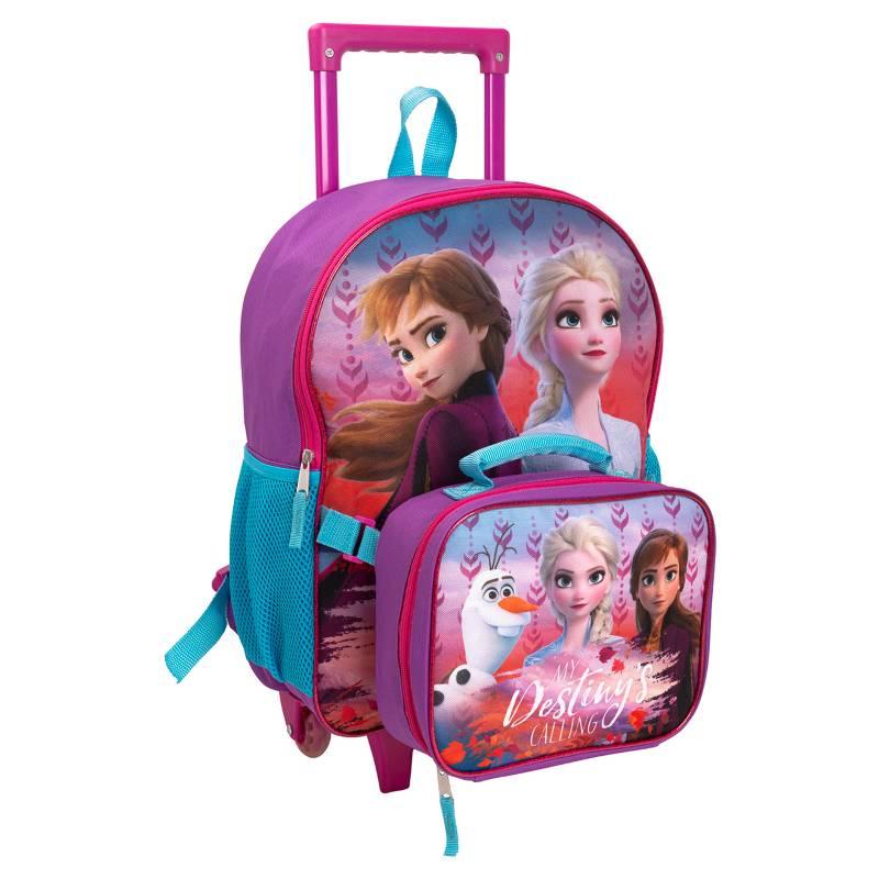 Frozen - Mochila+Lonchera con Ruedas Frozen 2