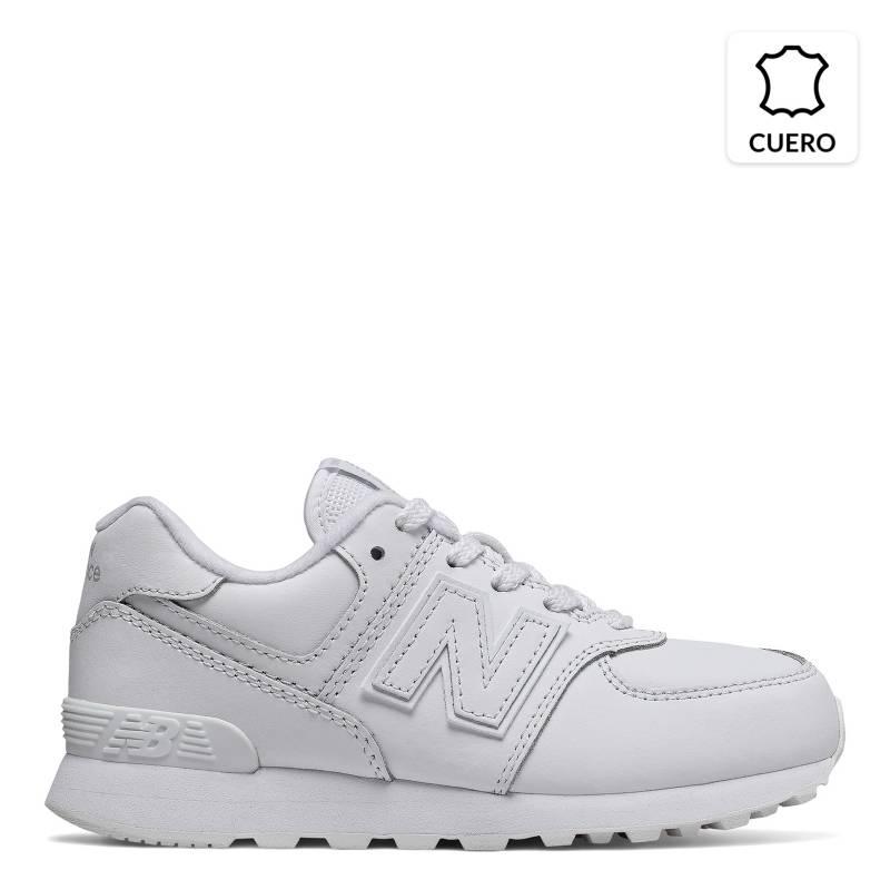 new balance blancas niño