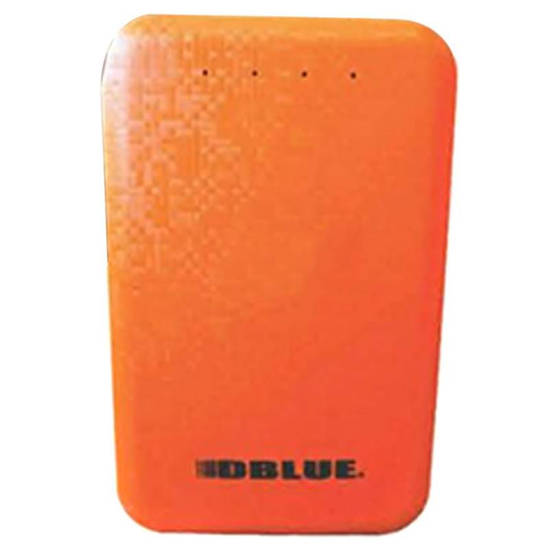 Batería Power Bank 8800Mah Naranja Puntostore
