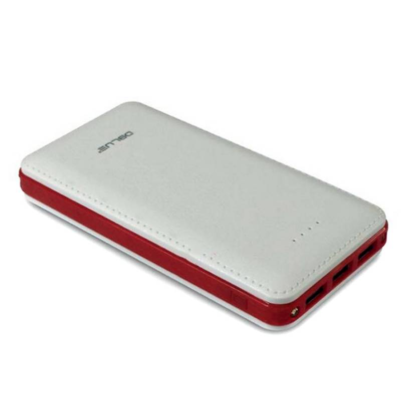 Power Bank Cargador Portátil 17000mAh 3 USB Rojo