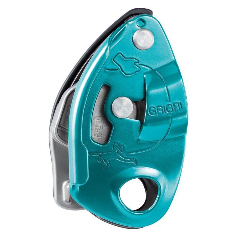 Petzl - Asegurador Con Frenado Asistido Grigri Color Azul