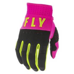 FLYRACING - Guantes  F-16 Youth Pink