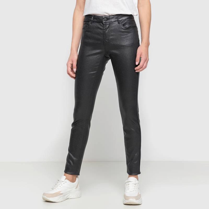 Vero Moda Pantalon Engomado Tiro Medio Falabella Com