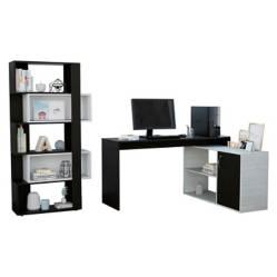 Tuhome - Office 20 Escritorio + Biblioteca