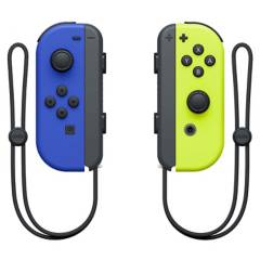 NINTENDO - Nintendo Switch Joy Con L R Blue Neon