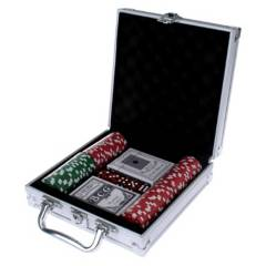 ANSALDO - Maleta Metalica Poker