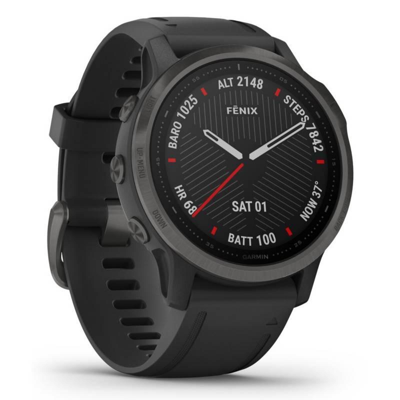 GARMIN - Smartwatch Garmin Fenix 6S Negro Zafiro Dlc
