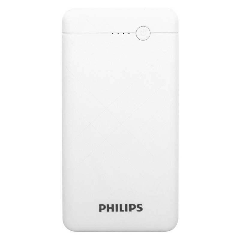 Power Bank Philips 10000 Mah Blanco