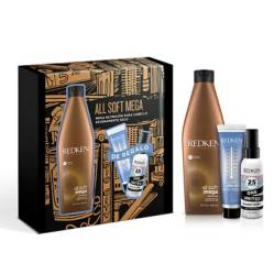 Set Shampoo All Soft Mega 300 ml + Regalo (Termo-protector Extreme Play Safe + One United)