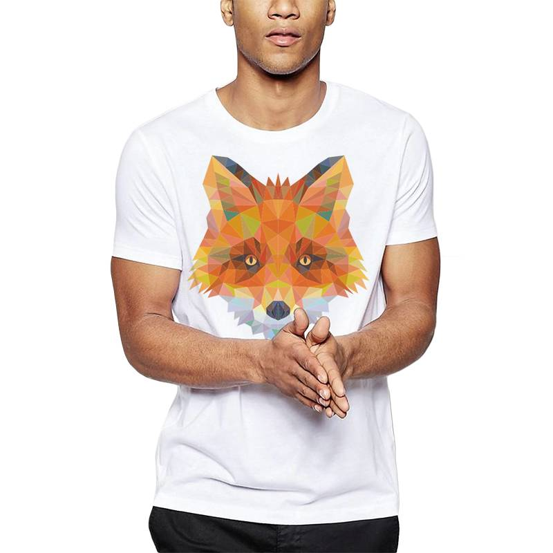 GET OUT - Polera Polygonal Red Fox.