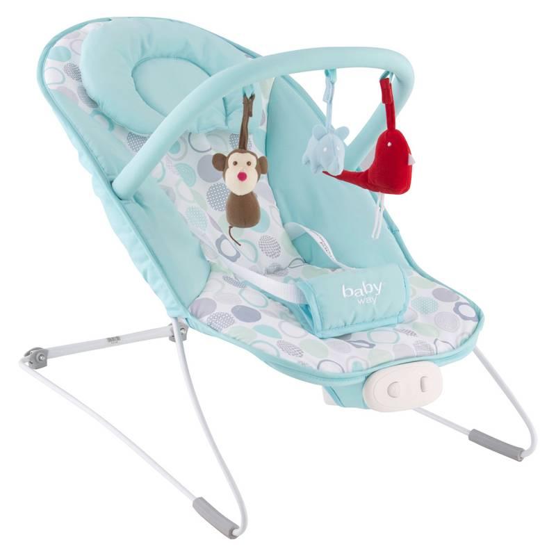 BABY WAY - Silla Nido Baby Way Turquesa BW-704A20