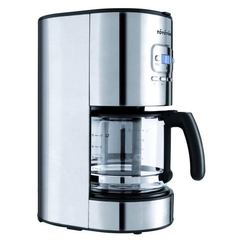 TOYOTOMI - Cafetera 12 Tazas Programable CF1220.