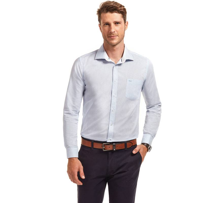 Ferouch - Camisa Casual Slim Fit