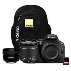 NIKON - Nikon D5600  Lente 18-55Mm  50Mm Yongnuo  Sd 32