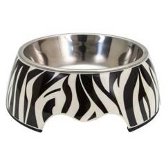 ROYAL PET - Bowl Mascota Negro/Blanco Medium