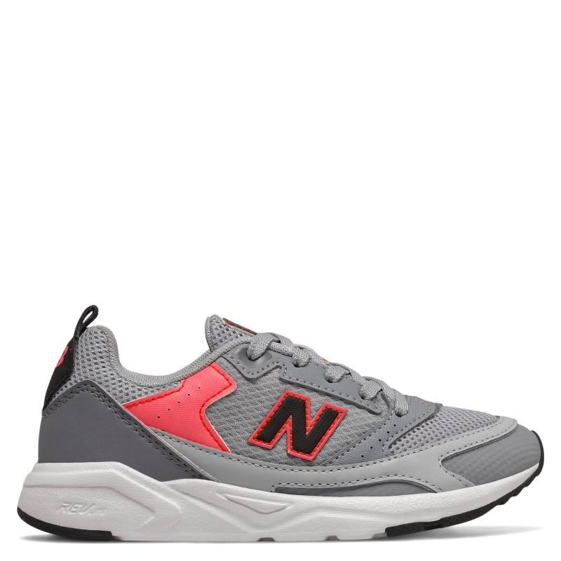 New Balance - Zapatilla Urbana Niña Gris YS45XLG1