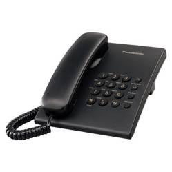 Panasonic - Alambrico Negro Kx-Ts500Lxb