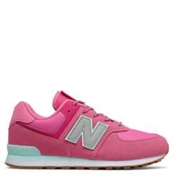 New Balance - GC574 Zapatilla Urbana Niña Cuero Rosada