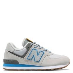 New Balance - GC574 Zapatilla Urbana Niño Cuero Blanca