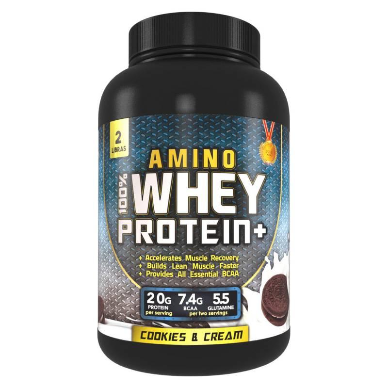 S/M - 100% Amino Whey Protein 2lbs