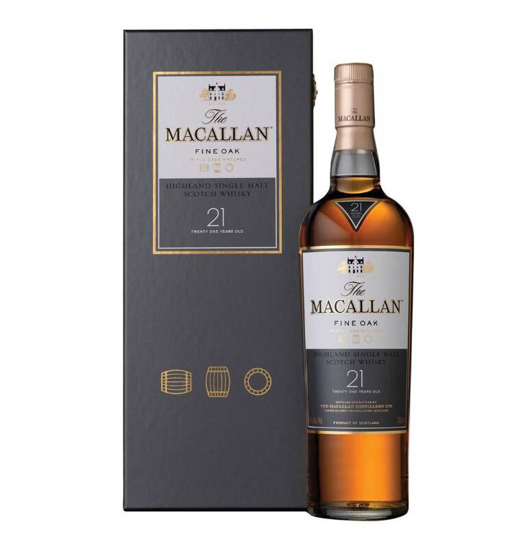 Macallan - Macallan 21 Años Whisky Single Malt